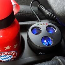 hama 3-fach Verteiler fürs Auto